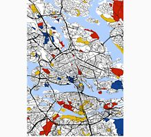 Stockholm Mondrian map Unisex T-Shirt