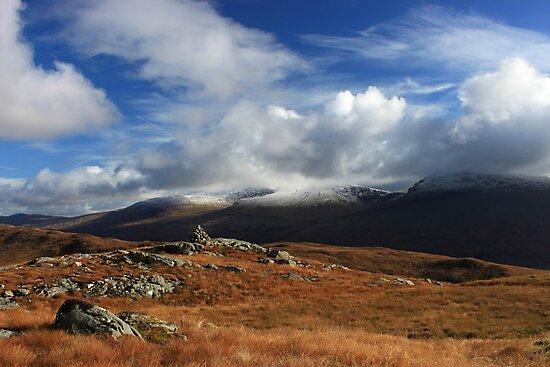 Scottish hill scene by beavo