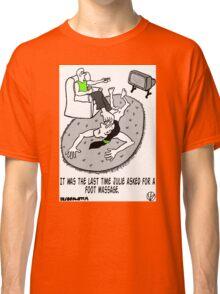 Foot Massage. Classic T-Shirt