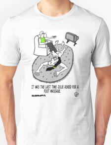 Foot Massage. T-Shirt
