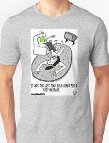 Foot Massage. Unisex T-Shirt