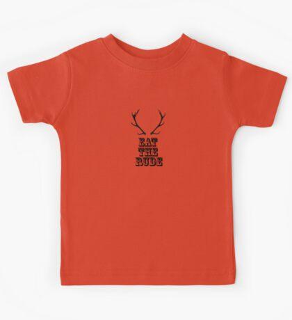 EAT THE RUDE (hannibal) Kids Tee