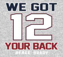 Free Brady - we got your back Kids Clothes
