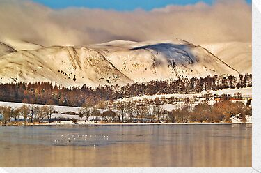 The Ochil Hills, Scotland. by Aj Finan