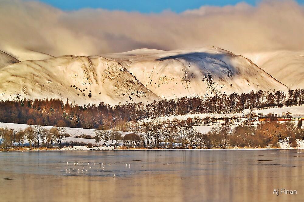 The Ochil Hills, Scotland. by Aj Finan