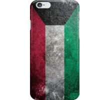 Kuwait Grunge iPhone Case/Skin