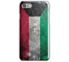 Kuwait Grunge iPhone Case/Skin