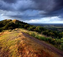Malvern Hills: July Evening by Angie Latham