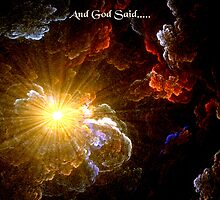 And God Said.... by saleire