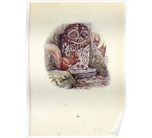 The Tale of Squirrel Nutkin Beatrix Potter 1903 0021 Riddle Me Riddle Me Rot Tot Tote Poster