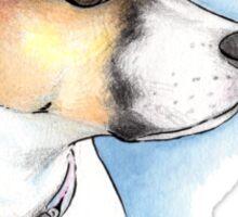 Puppy Portrait Sticker