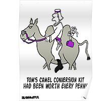 Camel Conversion Kit. Poster