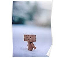 Danbo In The Snow Poster