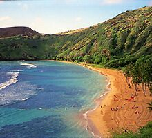 Hanauma Bay Park, Oahu, Hawaii by TonyCrehan