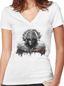 assassins creed. Ezio Auditore Women's Fitted V-Neck T-Shirt