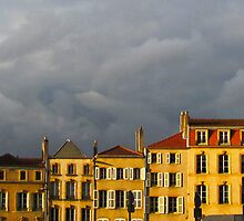 Moody sky over Metz by Jamie Alexander