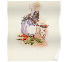 Cecily Parsley's Nursery Rhymes Beatrix Potter 1922 0026 This Pig Had a Bit of Meat Poster