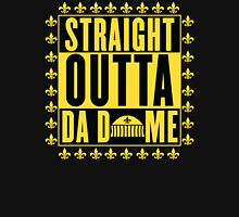 Straight Outta Da Dome Women's Fitted V-Neck T-Shirt