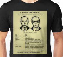 D B Cooper's FBI wanted poster Unisex T-Shirt