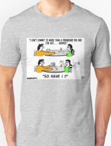 S.T.D's A Go. Unisex T-Shirt