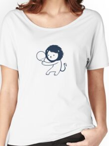 Ping pong lion Women's Relaxed Fit T-Shirt