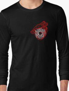 Digital Heart (Red) Long Sleeve T-Shirt