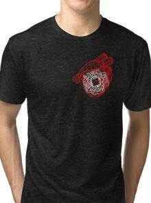 Digital Heart (Red) Tri-blend T-Shirt