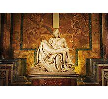 Michelangelo's Pietà - Vatican City Photographic Print