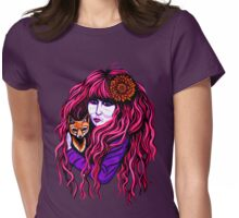 Vali Myers Womens Fitted T-Shirt
