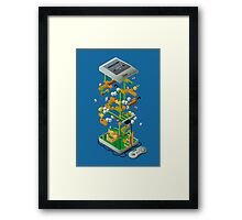 The Sun Stained Box Of Joy Framed Print