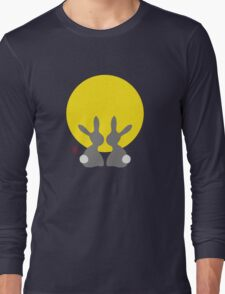 Watching The New Moon Long Sleeve T-Shirt