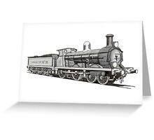 A-M & S P H R No1 Iron Girder Greeting Card
