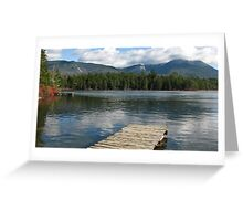 Daicey Pond- Baxter State Park, ME Greeting Card