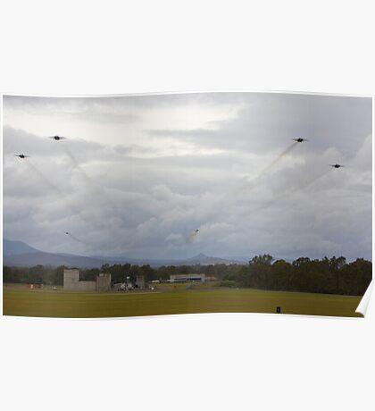 F111-C Squadron Farewell Poster