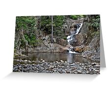 Smalls Falls in Rangeley, ME Greeting Card