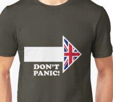 Don't Panic - Arrow Unisex T-Shirt