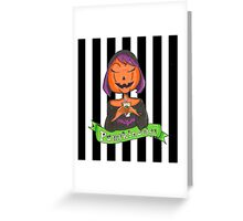 Pumpkin Spice Latte Greeting Card