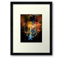 watchers of creation, evolution... a vision of sorts Framed Print