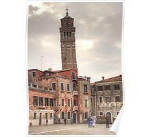 Chiesa di Santo Stefano, Venice Italy Poster