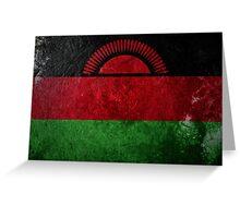 Malawi Grunge Greeting Card