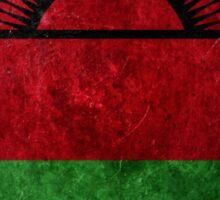 Malawi Grunge Sticker