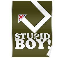 Stupid Boy - Arrow Poster