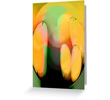 fruit apparition..... a still life Greeting Card