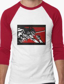 Eva 01 - End of Evangelion Men's Baseball ¾ T-Shirt
