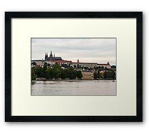 Prague castle - Prague, CZ Framed Print