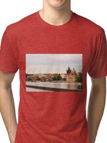 Vltava River - Prague, Czech Republic Tri-blend T-Shirt