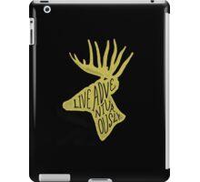 Live Adventurously iPad Case/Skin