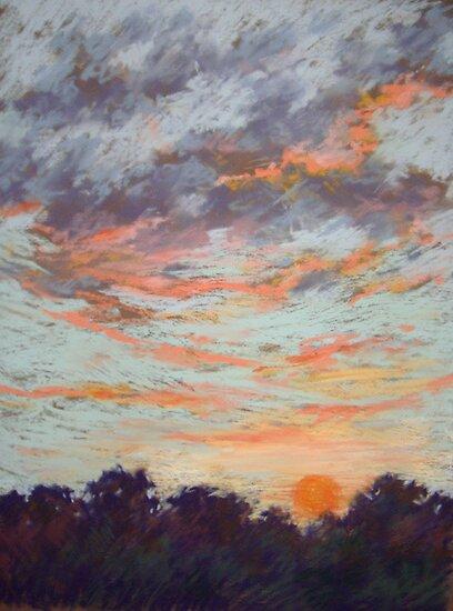 Sunset by Julia Lesnichy