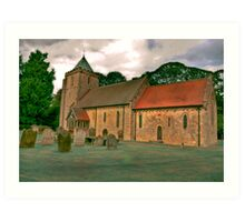 St John of Beverley Church - Salton Art Print