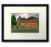 St John of Beverley Church - Salton Framed Print